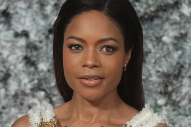 British actress Naomie Harris attends the premiere of Collateral Beauty at Vue, Leicester Square in London on December 15, 2016. Photo by Rune Hellestad/ UPI