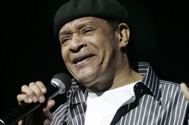 Jazz legend Al Jarreau (above) sings with George Benson at their Givin' It Up conert tour on October 17, 2007, at the Seminole Hard Rock Hotel and Casino in Hollywood, Florida. File photo by Michael Bush/UPI