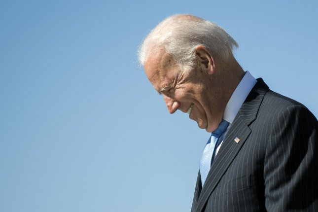 Former Vice President Joe Biden deflected a question about whether he will ru for president in 2020. Instead, he said his focus is helping Democrats in the 2018 midterm elections. File Photo by Kevin Dietsch/UPI