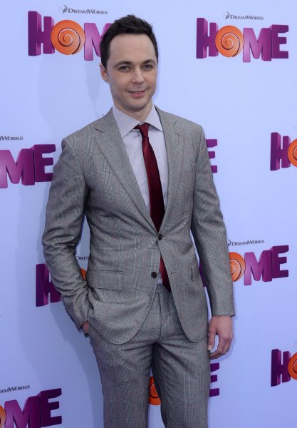 Jim Parsons at the Los Angeles premiere of Home on March 22. The actor's character will get intimate in an upcoming episode of The Big Bang Theory. File Photo by Jim Ruymen/UPI