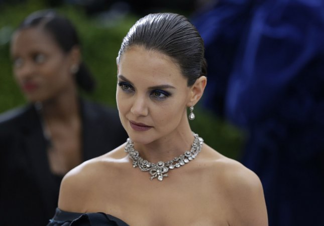Katie Holmes is set to be a presenter at Sunday's Grammy Awards ceremony in New York. File Photo by John Angelillo/UPI