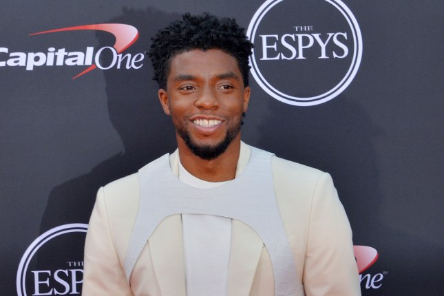 Chadwick Boseman took home International Man of the Year at the GQ Men of the Year Awards in London. File Photo by Jim Ruymen/UPI