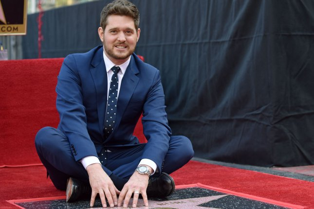 Singer Michael Bublé is set to headline his seventh music special for NBC on March 20. File Photo by Chris Chew/UPI