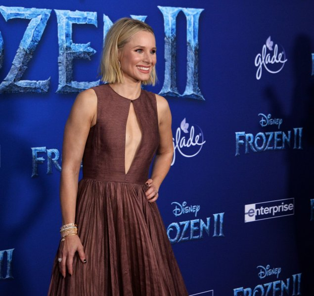 Cast member Kristen Bell attends the premiere of the animated musical comedy Frozen II in Los Angeles in November 7. Photo by Jim Ruymen/UPI | License Photo