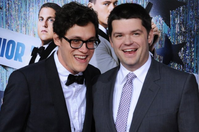 Phil Lord (L) and Christopher Miller are working on a reboot of Clone High.  File Photo by Jim Ruymen/UPI