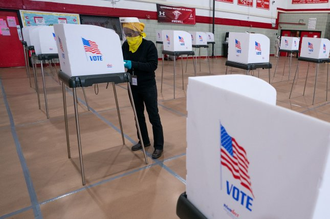 Maine's Supreme Court on Tuesday overturned a lower court ruling seeking to block ranked-choice voting in the state for November's presidential election. Photo by Kevin Dietsch/UPI
