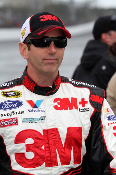 Greg Biffle at Daytona International Speedway in Daytona Beach, Fla., Feb. 26, 2012. UPI/Martin Fried