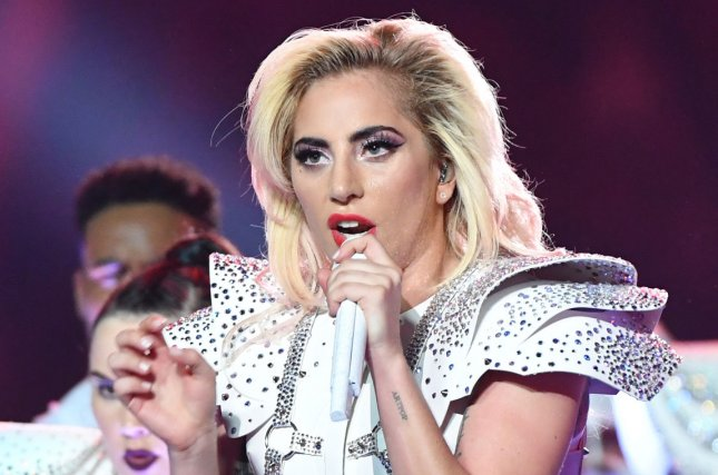 Lady Gaga performs during the halftime show at Super Bowl LI at NRG Stadium on February 5. Gaga has been subpoenaed by Dr. Luke as part of his lawsuit against Kesha. File Photo by Kevin Dietsch/UPI