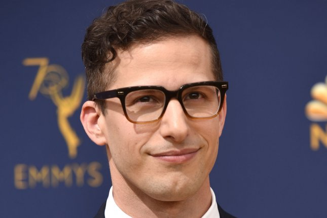 Andy Samberg stars in Palm Springs, a new romantic comedy coming to Hulu in July. File Photo by Christine Chew/UPI