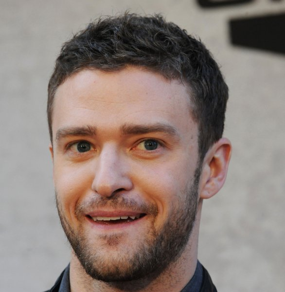 Singer, actor and dancer Justin Timberlake who has been asked by Cpl. Kelsey De Santis to escort her to the Marine Corps Ball. UPI/Jim Ruymen