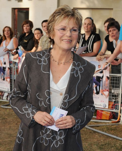 British actress Julie Walters attends the World premiere of Mamma Mia at Odeon, Leicester Square in London on June 30, 2008. (UPI Photo/Rune Hellestad)