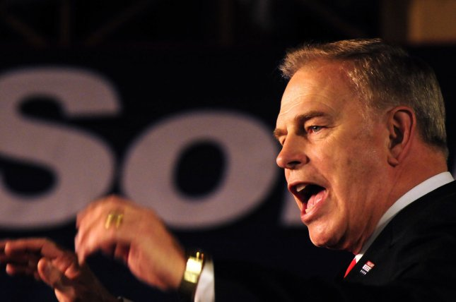 Former Gov. Ted Strickland of Ohio attempted to live on minimum wage for a week as part of the live-the-wage challenge to help legislators understand the conditions faced by the poor working class. (UPI Photo/Archie Carpenter)