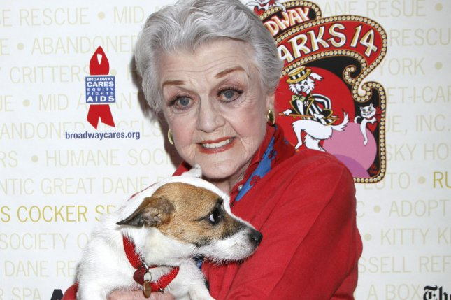 Angela Lansbury attends the Broadway Barks 14th Annual Animal Adoption Event in Shubert Alley in New York on July 14, 2012. File Photo by Laura Cavanaugh/UPI