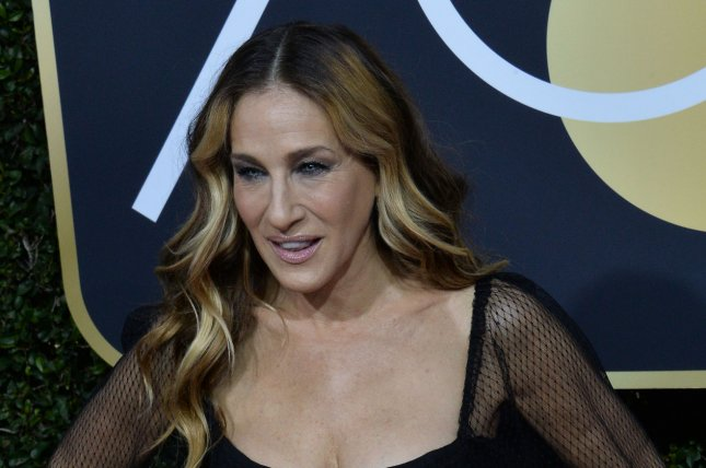 Sarah Jessica Parker showed off a new, blonder hairstyle in an interview with Jimmy Fallon. File Photo by Jim Ruymen/UPI
