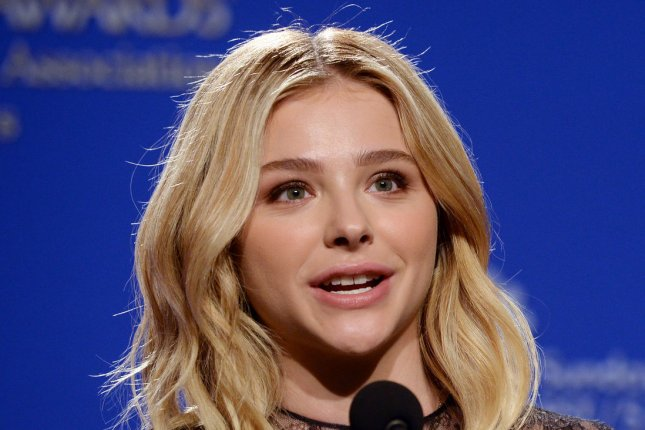 Chloe Grace Moretz announces the 2016 Golden Globe Awards nominees last December. File Photo by Jim Ruymen/UPI