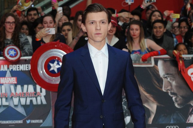 Tom Holland attends the U.K. premiere of Captain America: Civil War on April 26, 2016. Holland is set to portray Nathan Drake in Sony's upcoming Uncharted film. File Photo by Paul Treadway/ UPI