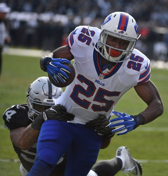 LeSean McCoy and the Buffalo Bills are aiming to return to relevancy. Photo by Terry Schmitt/UPI