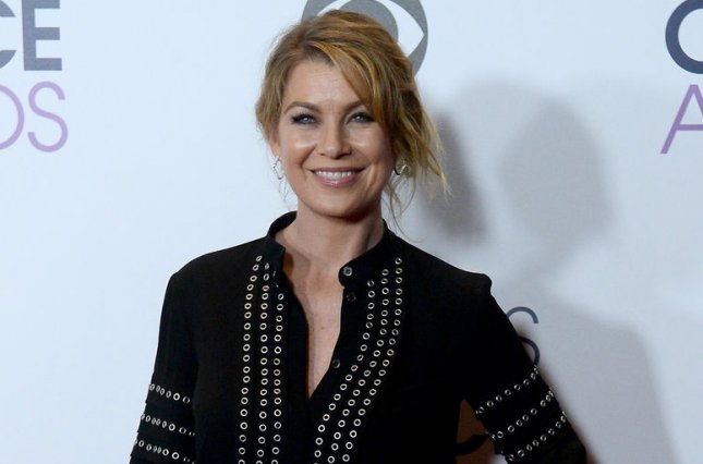 Ellen Pompeo shared cute pictures of daughter Sienna and son Eli from her family vacation. File Photo by Jim Ruymen/UPI