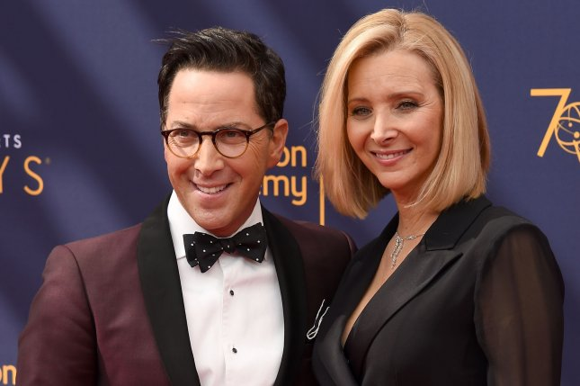 Lisa Kudrow (R) and Dan Bucantinsky will executive produce 13 new episodes of Who Do You Think You Are? File Photo by Gregg DeGuire/UPI