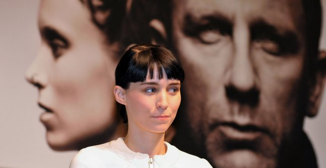 Actress Rooney Mara attends the press conference for the film The girl with the dragon tattoo in Tokyo, Japan, on January 31, 2012. This film will open on February 10 in Japan. UPI/Keizo Mori