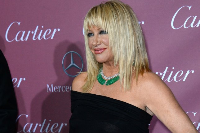 Actress Suzanne Somers attends the 26th annual Palm Springs International Film Festival awards gala Jan. 3, 2015. Photo by Jim Ruymen/UPI