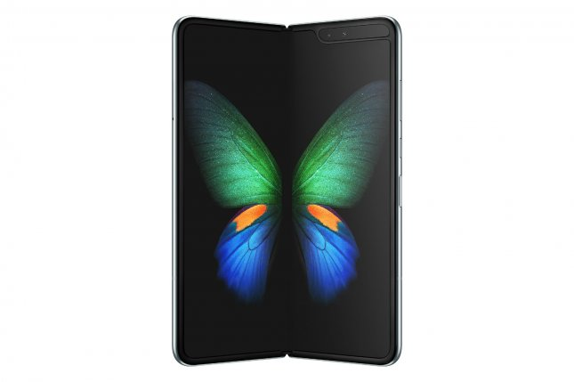 Samsung Electronics unveiled the highly anticipated Galaxy Fold, a new foldable device creating a new mobile category, at their Galaxy UNPACKED event on Wednesday. Photo by Samsung Electronics/UPI