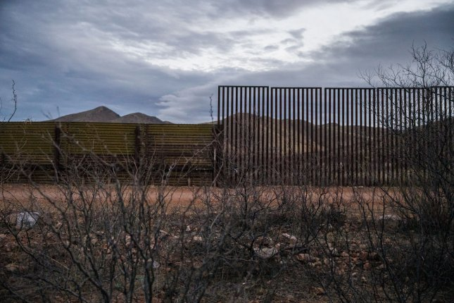 Former senior national security officials argue that President Donald Trump's declaration of a national emergency to build physical barriers along the U.S.-Mexico border harms his credibility with foreign leaders. Photo by Ariana Drehsler/UPI