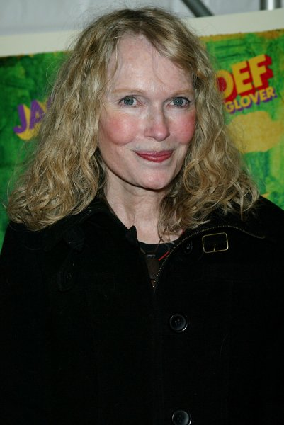 Mia Farrow arrives for the premiere of Be Kind Rewind at the Tribeca Cinemas in New York on February 19, 2008. (UPI Photo/Laura Cavanaugh)