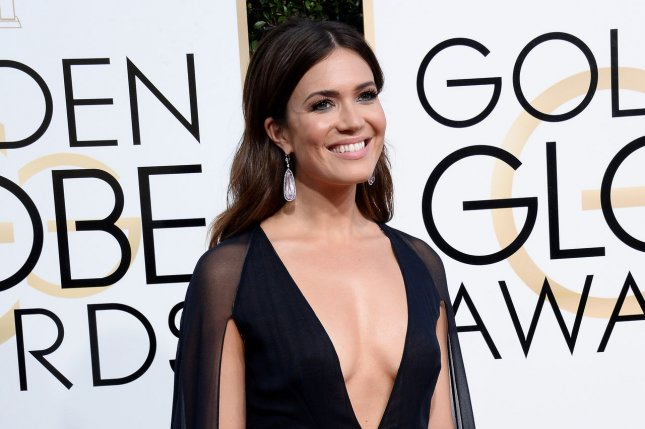 Mandy Moore attends the 74th annual Golden Globe Awards on January 8. Moore and Zachary Levi are returning to voice Tangled: The Series. Photo by Jim Ruymen/UPI