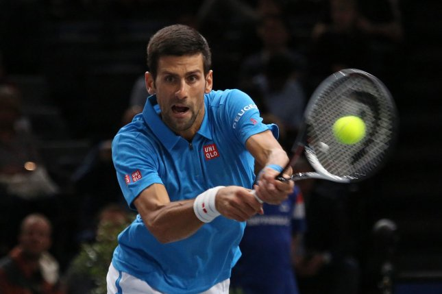 Playing for the first time since his early ouster at the Australian Open, Novak Djokovic posted a 6-3, 7-6 (4) straight-sets victory over Slovakia's Martin Klizan in the first round of the Abierto Mexicano Telcel tournament in Acapulco, Mexico. File Photo by David Silpa/UPI