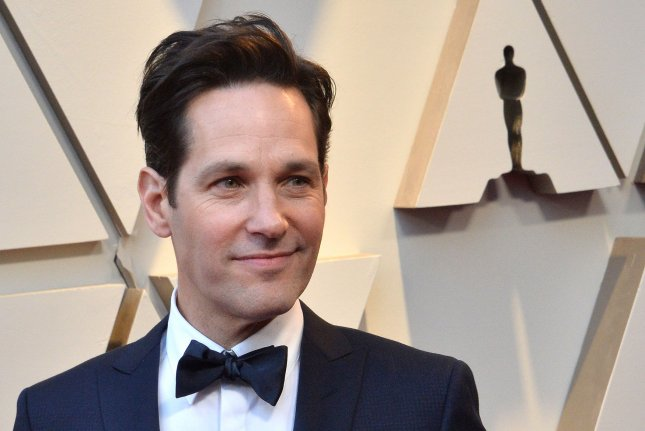 Paul Rudd arrives on the red carpet for the 91st annual Academy Awards at the Dolby Theatre in the Hollywood section of Los Angeles on February 24. The actor turns 50 on April 6. File Photo by Jim Ruymen/UPI
