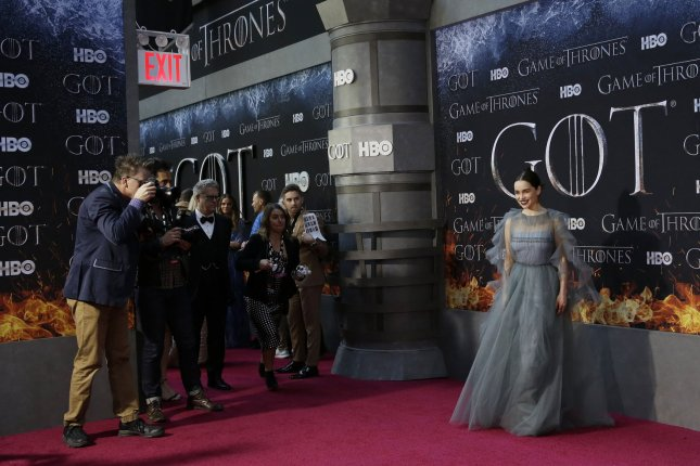 The Season 8 premiere of Game of Thrones drew 17.4 million viewers across all of HBO's platforms Sunday night. Photo by John Angelillo/UPI
