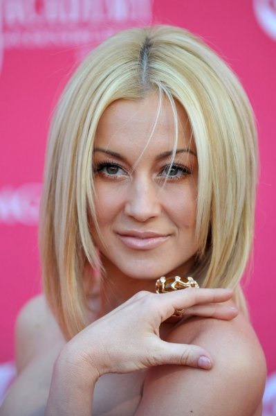 Kellie Pickler arrives for the 44th Annual Academy of Country Music Awards at the MGM Grand in Las Vegas, Nevada on April 5, 2009. (UPI Photo/Kevin Dietsch)