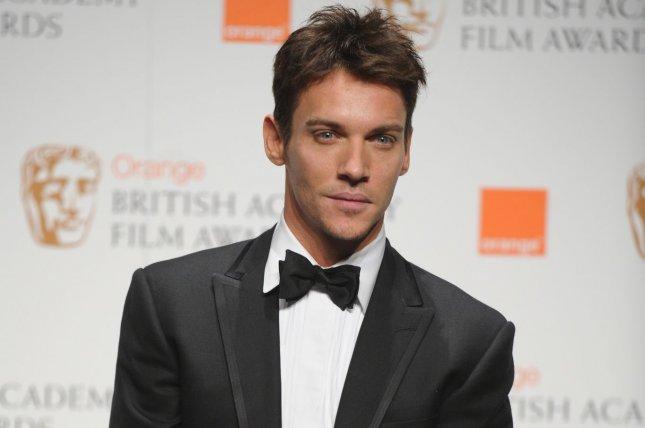 Irish actor Jonathan Rhys Meyers has joined the HISTORY series Vikings. He is seen here at the BAFTAs in London on February 21, 2010. File photo by Rune Hellestad/UPI