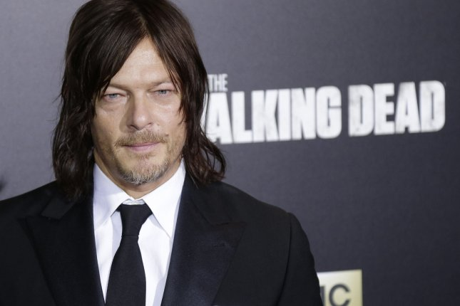 Norman Reedus arrives on the red carpet at AMC's The Walking Dead Season 6 fan premiere event on October 9, 2015 in New York City. File Photo by John Angelillo/UPI