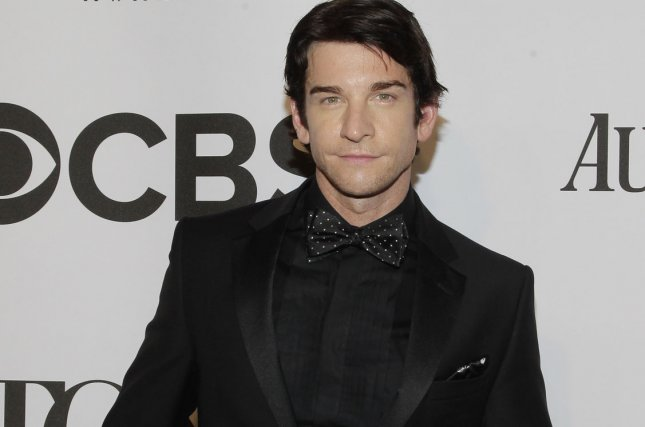 Andy Karl arrives on the red carpet at the 68th Tony Awards at Radio City Music Hall in New York City on June 8, 2014. Karl was injured in Friday's performance of Broadway's Groundhog Day. It is unclear when he will return to the show. File Photo by John Angelillo/UPI