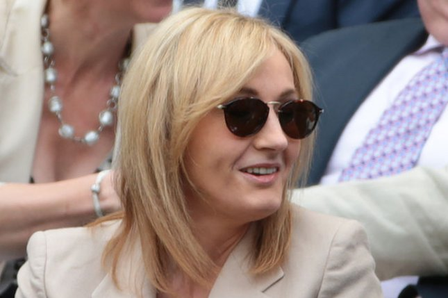 Author J.K. Rowling tweeted about backlash over Dumbledore's portrayal in the new Fantastic Beasts movie. File Photo by Hugo Philpott/UPI