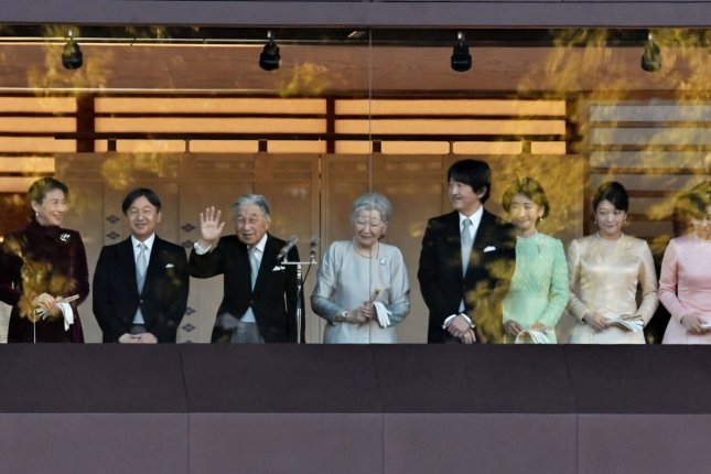 A member of Japan's imperial family was targeted in a knife threat this week, Japanese authorities say. File Photo by Keizo Mori/UPI