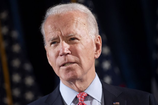 New York election officials cancelled the statewide presidential primary because only one viable candidate, former Vice President Joe Biden, remains on the ballot. File photo by Kevin Dietsch/UPI