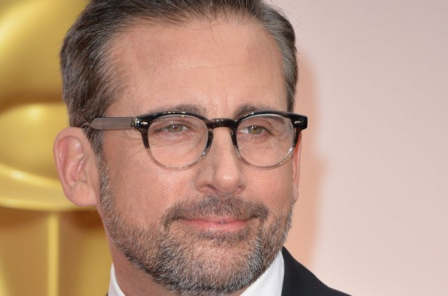 Steve Carell arrives at the 87th Academy Awards in Los Angeles on Feb. 22, 2015. Photo by Kevin Dietsch/UPI