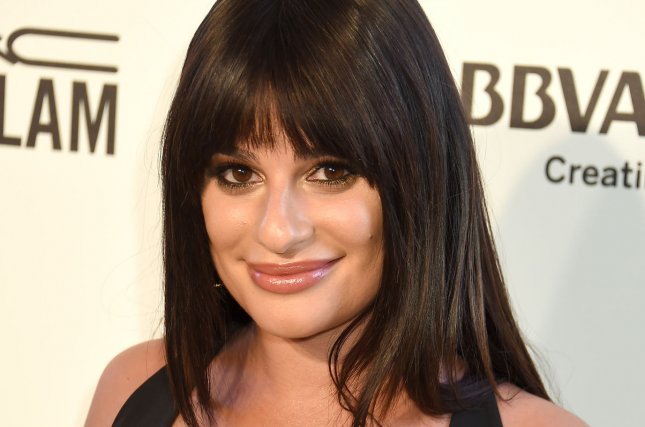 Lea Michele showed off her engagement ring on Wednesday's episode of Watch What Happens Live. File Photo by Gregg DeGuire/UPI