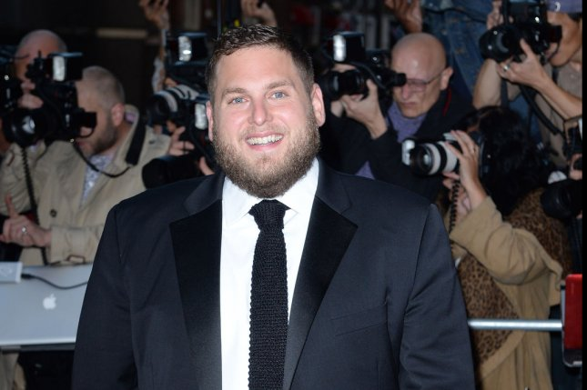 American actor Jonah Hill attends the GQ Men of the Year Awards at the Royal Opera House in London on Sept. 3, 2014. Photo by Rune Hellestad/UPI