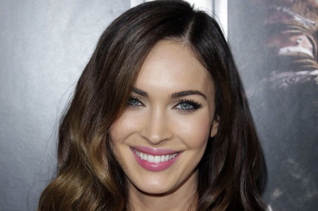 Megan Fox was spotted in a blonde wig while filming 'Teenage Mutant Ninja Turtles 2.' File photo by John Angelillo/UPI