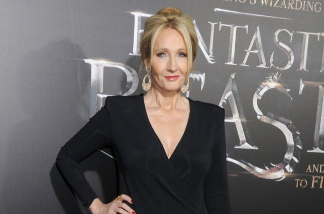 Harry Potter author J. K. Rowling arrives on the red carpet at the Fantastic Beasts And Where To Find Them premiere on November 10. Harry Potter website Pottermore has begun a Wizarding World book club. File Photo by Dennis Van Tine/UPI