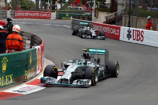 Mercedes Formula 1 driver Lewis Hamilton has won the Chinese Grand Prix a record six times, including the 2019 event. File Photo by Maya Vidon-White/UPI