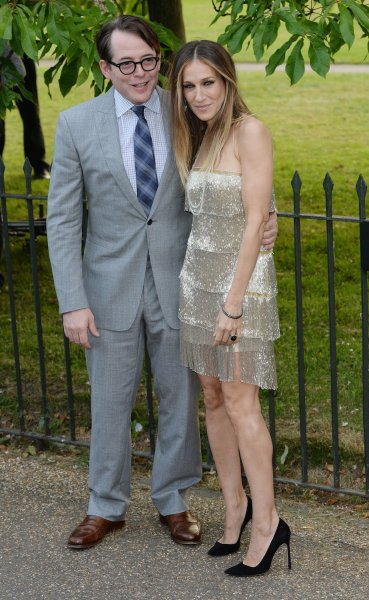 Matthew Broderick said he and wife Sarah Jessica Parker keep their marriage strong through communication. (UPI/ Rune Hellestad)