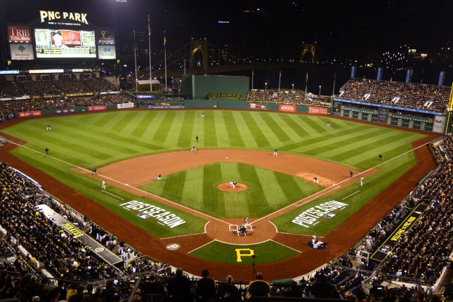 Major League Baseball has requested that broadcasters of Sunday's games honor the 25th anniversary of the Americans with Disabilities Act by acknowledging disabled fans in the stands at venues nationwide, such as PNC Park in Pittsburgh (pictured). Photo: UPI/Archie Carpenter