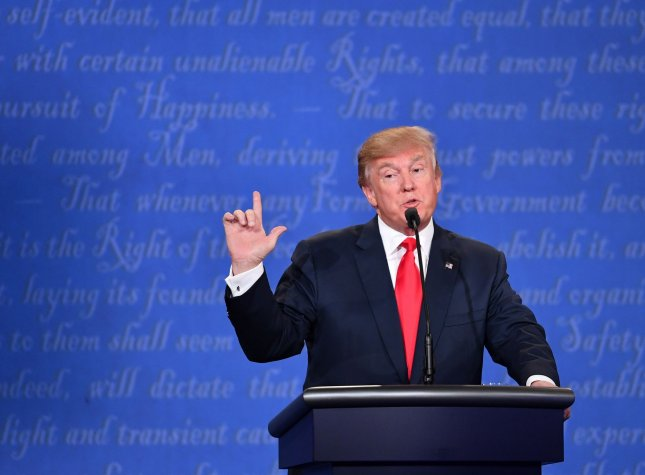 Many in business have said privately that they are terrified of a Donald Trump administration and the possibility of trade wars and ballooning deficits. Photo by Kevin Dietsch/UPI