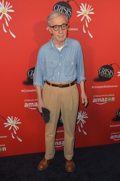 Writer-director Woody Allen has released a trailer for his next film A Rainy Day in New York. File Photo by Andrea Hanks/UPI