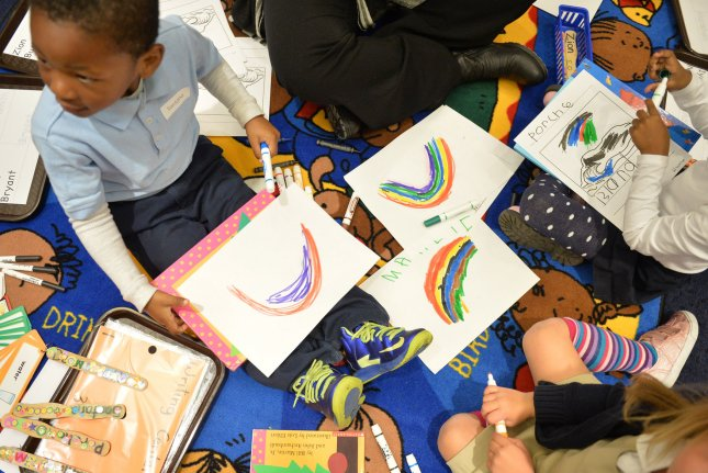 Head Start programs are one of the ways education policy makers say income-based achievement gaps can be narrowed. File photo by Kevin Dietsch/UPI